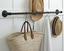 Industrial Pipe Coat Rack pipe clothes rack moutardco 71