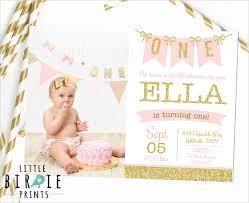 1st Birthday Party Invitation Template 38 First Birthday Invitation Templates Word Psd Vector