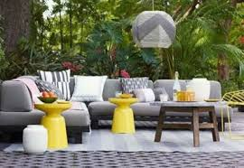 yellow outdoor furniture. outdoor living blog outdoorlicious gray furniture yellow a