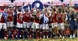 Composed of teams all the way down in the 10th level of the english football league pyramid, up to the big boys of the premier league, the fa cup is so special because of the potential matchups. Arsenal S No 14 Delivers Fa Cup No 14 Twitter Toasts Aubameyang As Gunners Beat Chelsea In