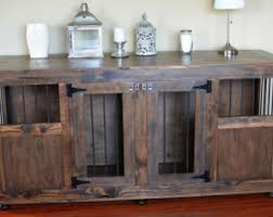 wooden dog crate furniture. Double Dog Crate Without Divider Wooden Furniture W
