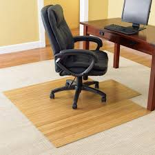 bamboo chair mat office chairmat rollup computer carpet in floor for on designs 14