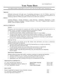 Military To Civilian Resume