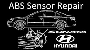 2013 Hyundai Santa Fe Abs And Tcs Lights Are On 2006 2009 Hyundai Sonata Abs Traction Control Sensor Repair