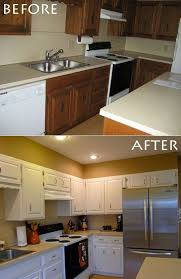 painting kitchen cabinets before after inspirational for mob