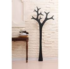 Black Wood Coat Rack Furniture Swedese Tree Modern Coat Rack In Black Finish Unique 75