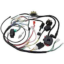 chinese atv wiring harness change your idea wiring diagram amazon com goofit ignition rebuild kit wiring harness for 50cc 90cc rh amazon com chinese atv wiring harness diagram atv wiring harness