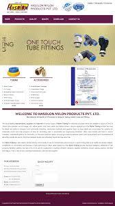 Catalogue hasolon nylon products