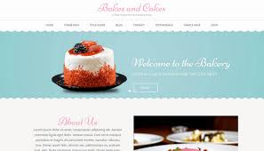 Bakery Websites Download Bakes And Cakes Free Wordpress Theme Reviewed