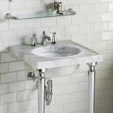 sink with metal legs.  Legs Kathryn Metal 24 And Sink With Legs G