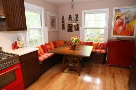 Kitchen  Corner Kitchen Table With Storage Bench Intended For Corner Seating Kitchen
