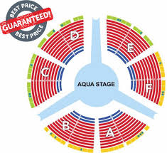 Zumanity Theater Seating Chart Le Reve Dream Seating Chart Best Seats Poolside Golden