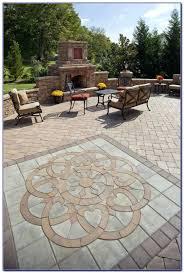 Paver Patio Designs Patterns Magnificent Paver Patio Designs Patterns Patterns For And Landscape Design