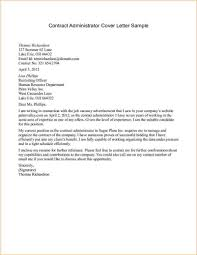 Sample Letter Of Agreement Sample Contract Letters Letter Sample For Contract Administrator 11