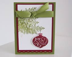 Stampin Up Handmade Card  Karenu0027s Cards U0026 IdeasCard Making Ideas Christmas