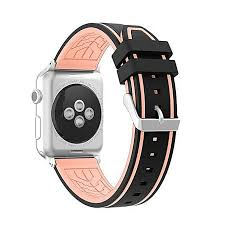 guoaivo leather wristband watch band wrist strap for apple watch iwatch series 1 2 42mm