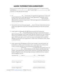 012 Termination Of Rental Agreement Elegant Cancellation Template