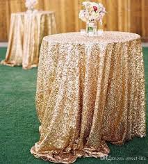 qoo10 2016 bling rose gold sequins wedding party round table cloth wedding d household bedd