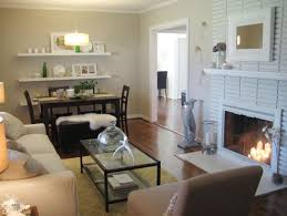 one solution is to simply paint over old dingy brick painting bricks white like in this living room from young house love creates a clean and