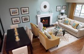 Uncategorized Lovely Open Space Concept Of Living And Dining Room Design Small Living Room Dining Area