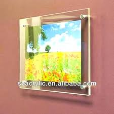 acrylic wall frames acrylic wall frames 11x17 wall mounted acrylic photo frames uk