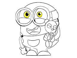 Minions Coloring Pages Pdf At Getcoloringscom Free Printable