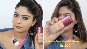 lakme foundation makeup tutorial in hindi rinkal soni