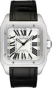 santos de cartier santos 100 watch