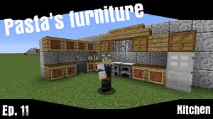 Minecraft Furniture Kitchen Pastas Furniture Ep11 Kitchen Minecraft Vanilla Interior And