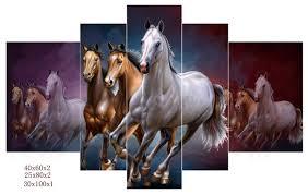 unframed tableaux design running wild horse posters modern home decor canvas wall art hd modular painting on wild horses wall art with unframed tableaux design running wild horse posters modern home