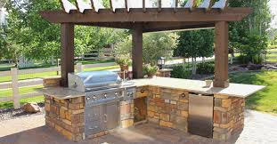 Pergola Barbecue