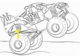 Colouring Pages Monster Truck Coloring Pages Monster Trucks Easy And