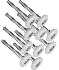 garage door rollersAmazoncom 2Inch 13 Ball Nylon Garage Door Rollers With 4Inch
