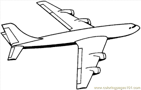 Small Picture Airplane Coloring Pages Clipart Panda Free Clipart Images 5743