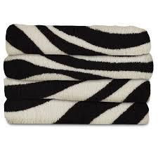 Zebra Heated Throw Blanket
