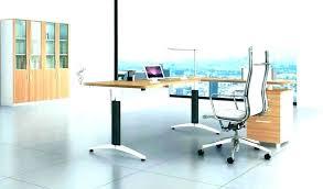 contemporary glass office. Glass Home Office Desk Modern Contemporary