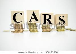 Word Cars Finance Concept Stack Coins Word Cars Stock Photo Edit Now