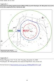 Faa Rest Rules Chart Faa Expands Washington Dc Restricted Airspace Bypassing