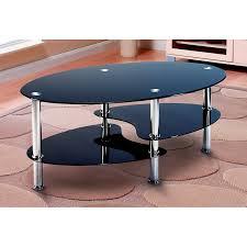 bm new york signature coffee table bm black glass