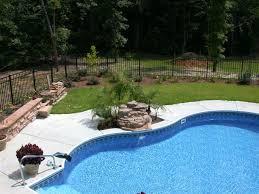 Backyard Pools Designs Simple Rising Sun Pools Spas InGround Pools Transform Your Backyard
