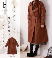 coat camel winter outerwear winter check cool nostalgic detective feel retro coat large large size 13