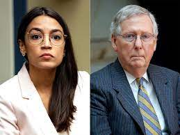 AOC Slams Mitch McConnell as Teens in ...