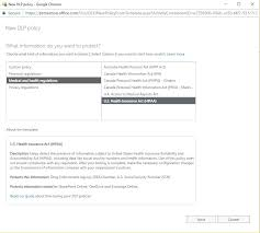 Dlp Office 365 Office 365 Data Loss Prevention Setting Up Unified Data