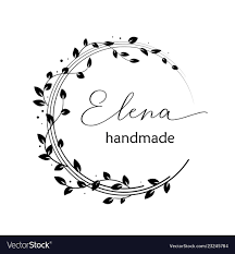Free Premade Logo Designs Premade Logo Design With Floral Wreath Tree