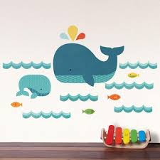 whale baby wall decal  walldecalscom