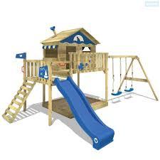 Spielturm Wickey Smart Coast Spielhaus Garten Kletterturm