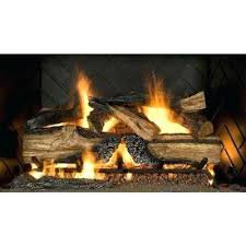 fake logs for gas fireplace country split oak in vented natural gas fireplace logs fake birch