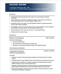 The civil engineering resume format is what you use when you are keen to make a cv for the civil engineer. 19 Civil Engineer Resume Templates Pdf Doc Free Premium Templates