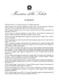 Ordinanza del ministro Speranza con nuove restrizioni per fermare il  contagio - Arnara