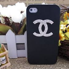 chanel iphone case. handmade iphone 5 case , 4s chanel swarovski crystal iphone c